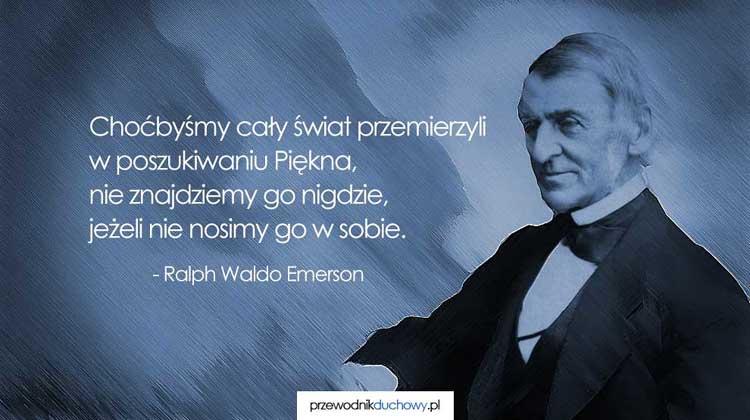 Ralph Waldo Emerson Mądre Cytaty Przewodnik Duchowy