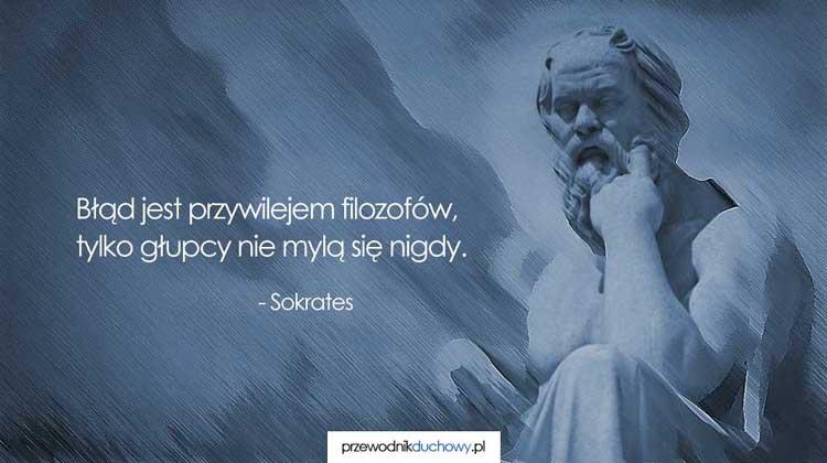 Sokrates Najwspanialsze Cytaty Przewodnik Duchowy